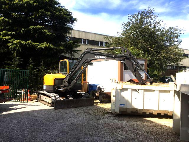 Louer une benne pour vos travaux de terrassement en Seine-et-Marne (77)
