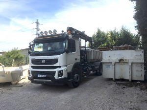 Location camion bennes